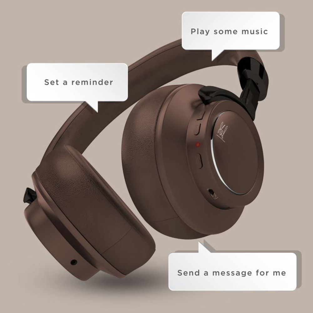 b00d28f98e5 Itek BTHP005MSD MSD Edition Voice Assistant Bluetooth Headphone (Brown)  Price in India - buy Itek BTHP005MSD MSD Edition Voice Assistant Bluetooth  Headphone ...