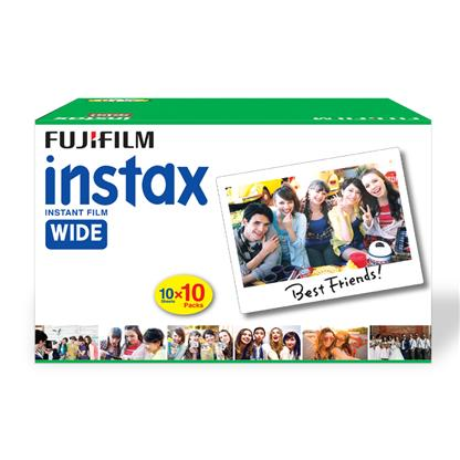 buy FUJIFILM INSTAX CAMERA VALUE PACK WIDE 100 SHOTS :Fujifilm