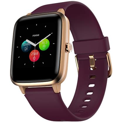 buy Noise Colorfit Pro 2 Full Touch Control Smart Watch (Deep Wine) :Noise