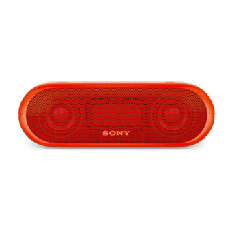 buy SONY PORTABLE BLUETOOTH SPEAKER SRSXB20 RED :Sony