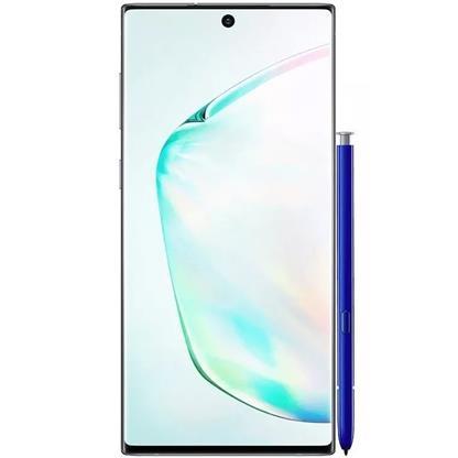 buy SAMSUNG MOBILE GALAXY NOTE 10 PLUS N975FD 12GB 256GB SILVER :Samsung