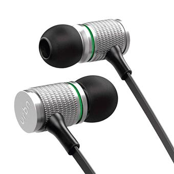 buy URBN EARPHONE WITH MIC THUD 100 SILVER :URBN