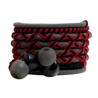 buy Crossloop Pro Series Earphone In Red & Black :Crossloop