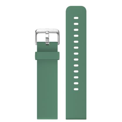 buy COLORFITPRO3 SILICONE 22MM STRAP SMOKEGREEN :Smart Watch Straps