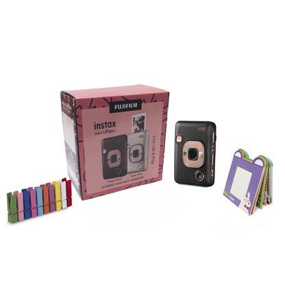 buy FUJIFILM INSTAX CAMERA MINI LIPLAY PLUS ELEGANT BLACK :Fujifilm