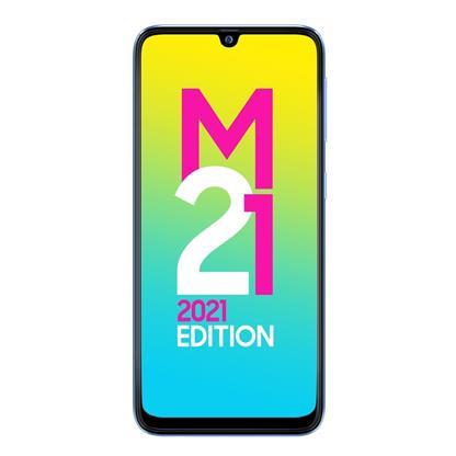 buy SAMSUNG MOBILE GALAXY M21 2021 M215GD 4GB 64GB LIGHT BLUE :Lithium Polymer