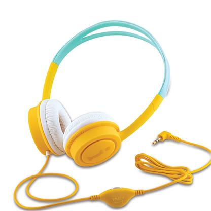 buy IBALL STAR KYDZ DIVA WIRED HEADPHONE YELLOW AND BLUE :IBall
