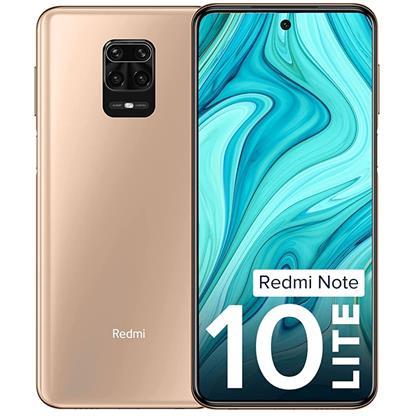 buy REDMI MOBILE NOTE 10 LITE 4GB 128GB 36992 CHAMPAGNE GOLD :Champagne Gold