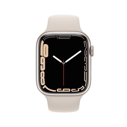 buy APPLE WATCH S7 45MM STAR AL STR SP GPS MKN63HN/A :Apple Watch