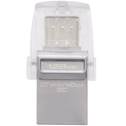 buy KINGSTON PENDRIVE OTG TYPE C 128GB DATATRAVELER MICRODUO3C :Kingston