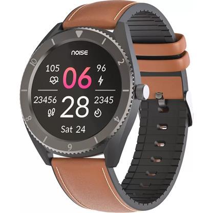buy Noise NoiseFit Endure Smart Watch with 100+ Cloud Based Watch Faces (Tan Brown) :Noise