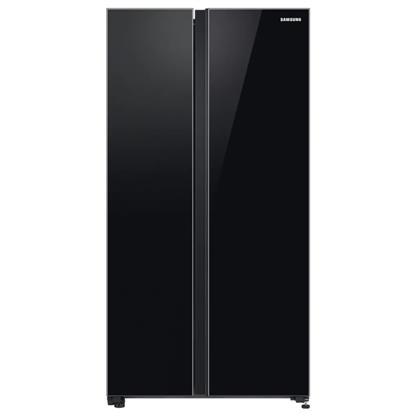 buy SAMSUNG REF RS72R50112C BLACK GLASS (700) :Toughened Glass