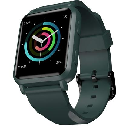 buy Noise ColorFit NAV Smart Watch with Built-in GPS and High Resolution Display (Camo Green) :Noise