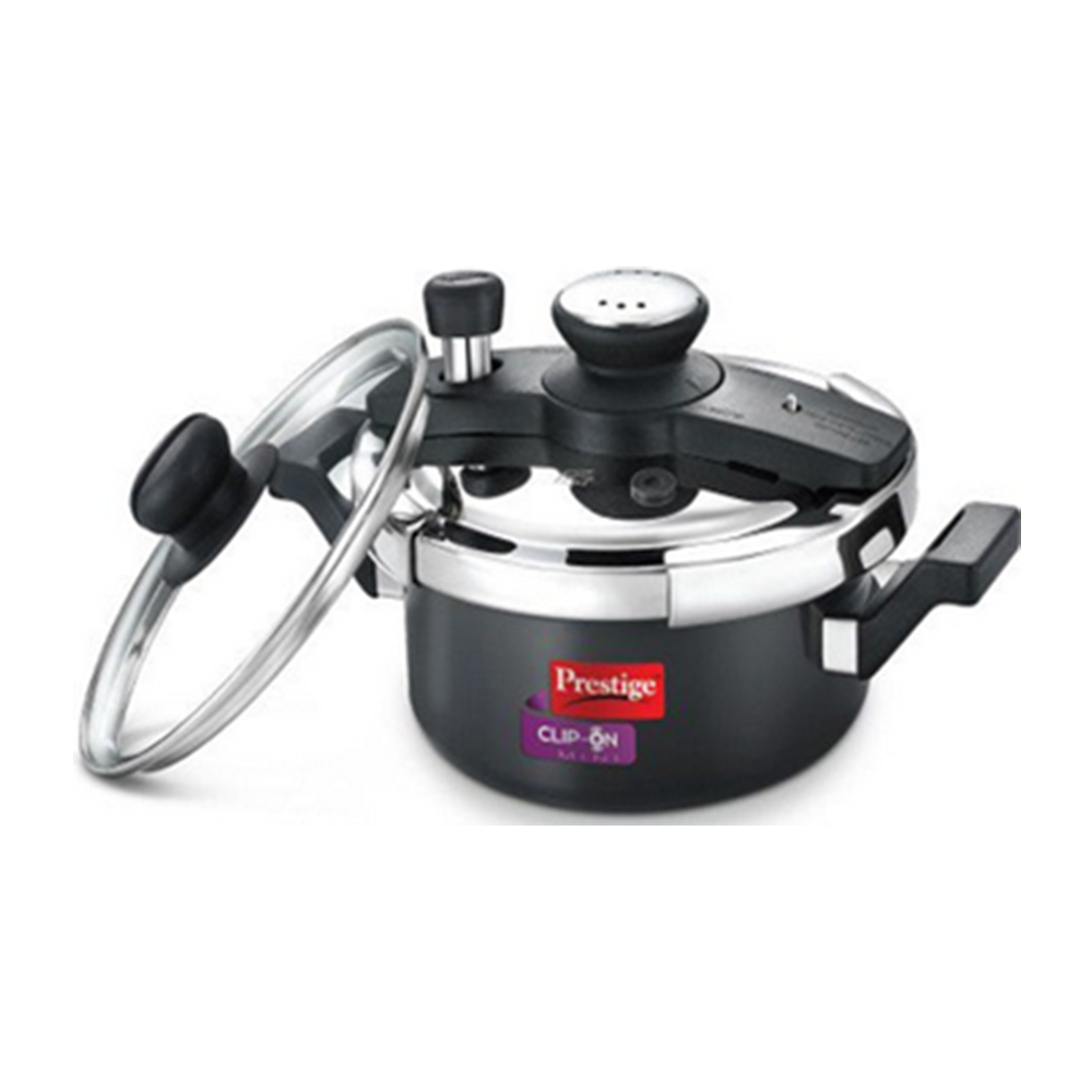 7bf36457d Prestige Stainless Steel Clip On Pressure Cooker (5 Litres) Price in ...