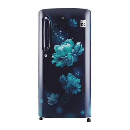 buy LG REF GLB201ABCY BLUE CHRAM (190) :Toughened Glass
