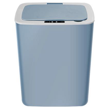 buy SHEFFIELD INTELLIGENT RECHARGEABLE DUSTBIN BLUE :Dustbin