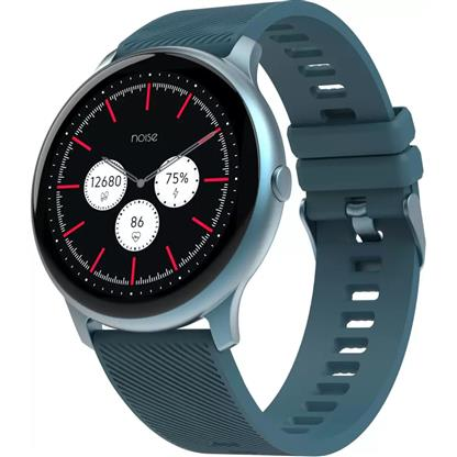 buy Noise NoiseFit Evolve Full Touch Control Smart Watch with AMOLED Display - Dusk Blue :Noise