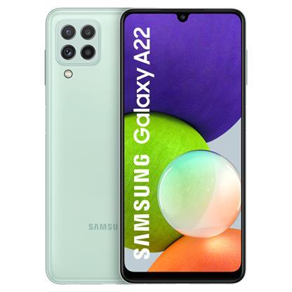 buy SAMSUNG MOBILE GALAXY A22 A225FR 6GB 128GB LIGHT GREEN :Mint