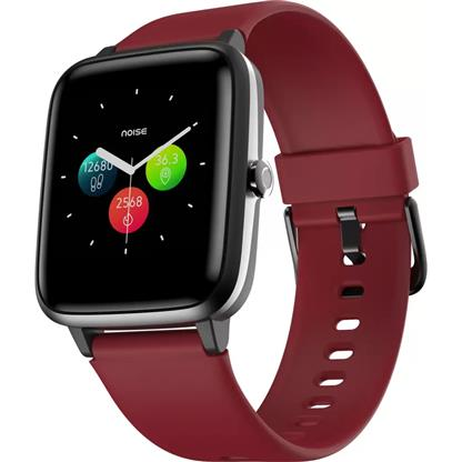 buy Noise Colorfit Pro 2 Full Touch Control Smart Watch (Cherry Red) :Noise