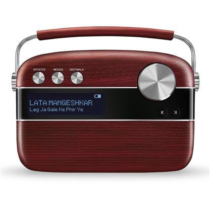 buy SAREGAMA CARVAAN MUSIC PLAYER CHERRYWOOD RED :Saregama