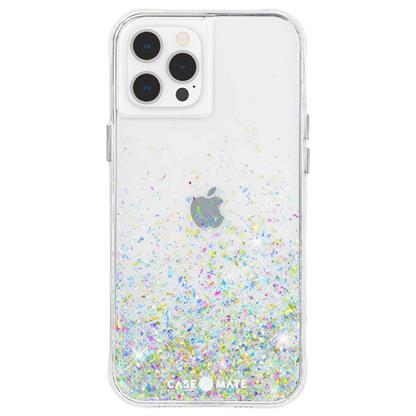 buy Case-Mate Twinkle Ombre Hard Back Case Cover for iPhone 12 Pro Max - Confetti :Casemate