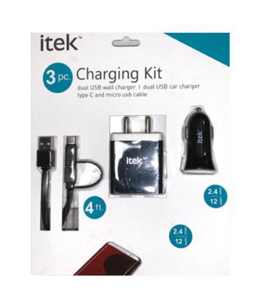 buy ITEK CHARGING KIT CAK003 :ITEK