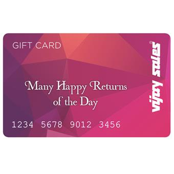 buy Vijay Sales Many Happy Returns Of The Day Gift Card-25000 :