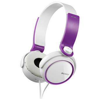 buy SONY HEAPHONE MDRXB250VC VIOLET :Sony