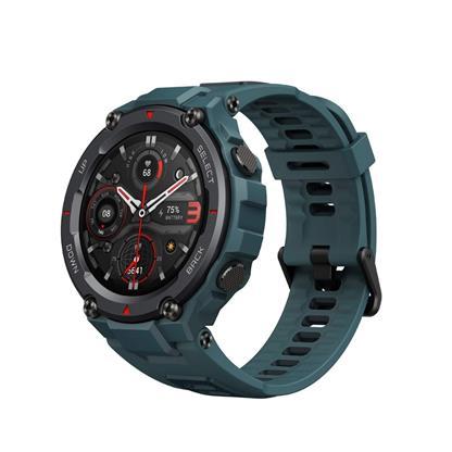 buy AMAZFIT SMART WATCH T REX PRO STEEL BLUE :Smart Watches & Bands