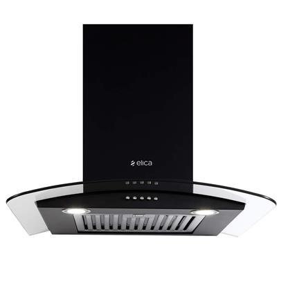 buy ELICA CHIMNEY GLACE SF ETB PLUS LTW 60 NERO PB LED :Elica