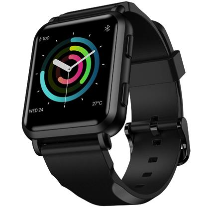 buy Noise ColorFit NAV Smart Watch with Built-in GPS and High Resolution Display (Stealth Black) :Noise