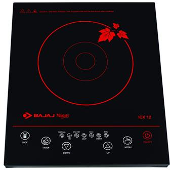 buy BAJAJ MAJESTY INDUCTION COOKER ICX12 :Bajaj