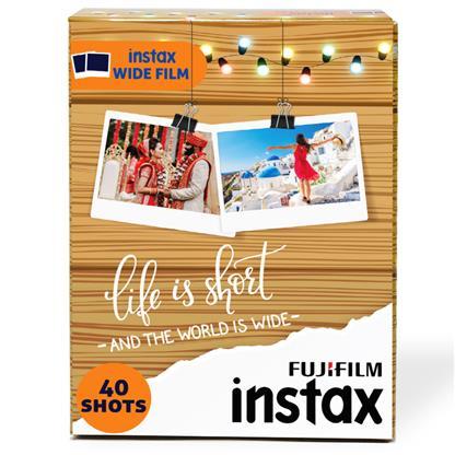 buy FUJIFILM INSTAX CAMERA VALUE PACK WIDE 40 SHOTS :Fujifilm