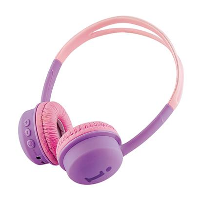 buy IBALL STAR KYDZ BT HEADPHONE VIOLET AND PINK :IBall
