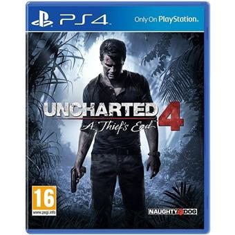 buy SONY PS4 GAME SOFTWARE UNCHARTED 4 A THIEF'S END :Sony