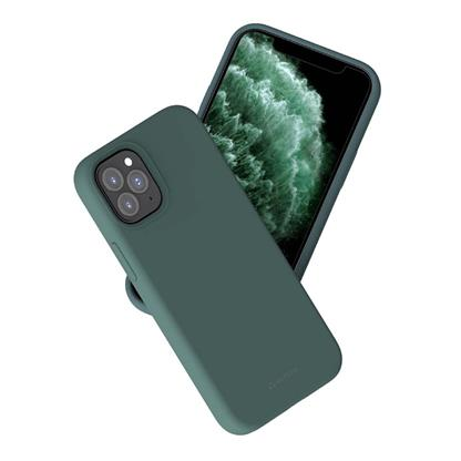 buy Stuffcool Silo Soft & Smooth Slimmest Back Case Cover for iPhone 12 Pro Max - Green :Stuffcool