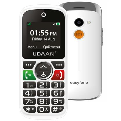 buy EASYFONE MOBILE UDAAN 2 WHITE :Less Than 3 Inch