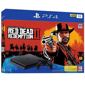 buy SONY PS4 1TB BUNDLE RED DEAD REDEMPTION II :Sony