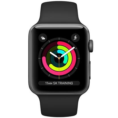 buy APPLE WATCH S3 42 SG AL BLK SP GPS MTF32HNA :Apple