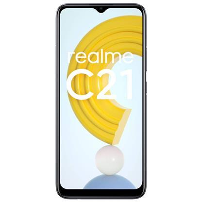 buy REALME MOBILE C21 RMX3201 4GB 64GB CROSS BLACK :Smartphones