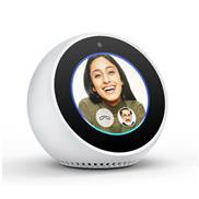 buy Amazon Echo Spot Portable Bluetooth Speaker (White)