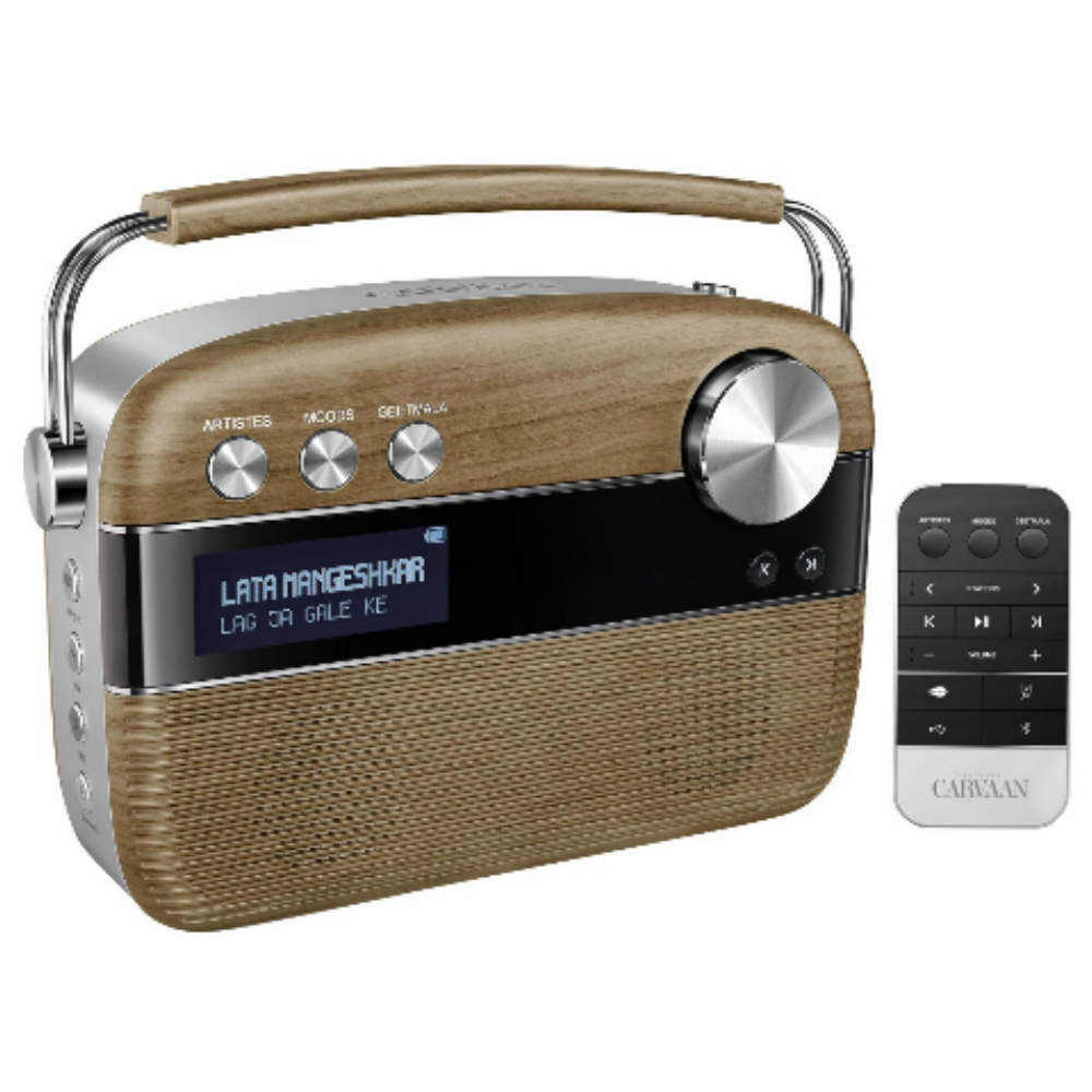 Saregama Carvaan Music Player (Brown) Price in India - buy