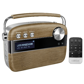 buy SAREGAMA CARVAAN MUSIC PLAYER PORCELAIN BROWN :Saregama