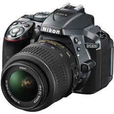 Nikon D5300 DSLR Camera (18-55mm, Black)