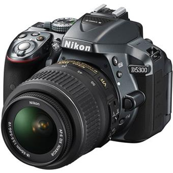 buy NIKON DSLR D5300 18-55MM BLACK :Nikon