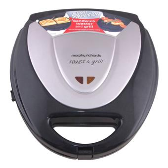 buy MORPHY RICHARDS SW MAKER NEW TOAST & GRILL (CHANGEABLE PLATES) :Morphy Richards