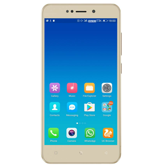 buy GIONEE MOBILE X1 2GB 16GB GOLD :GiONEE
