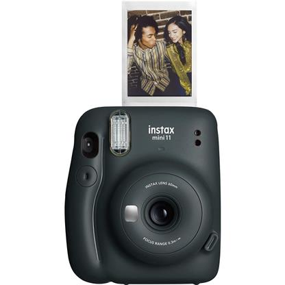 buy FUJIFILM INSTAX CAMERA MINI 11 STARTER KIT GRAY :Fujifilm