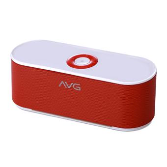 buy AVG PORTABLE BLUETOOTH SPEAKER F3 RED :
