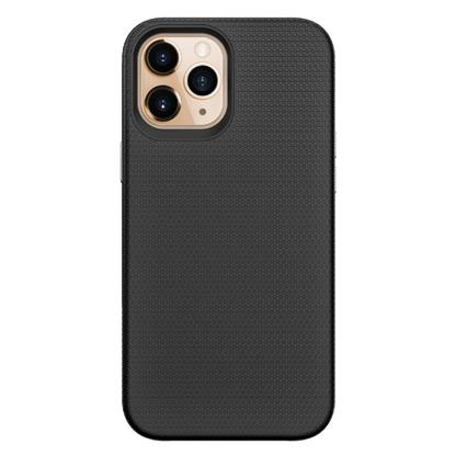 buy Stuffcool Spike Tough & Solid Dual Layer Hard Back Case Cover for iPhone 12 Pro Max - Blk :Stuffcool